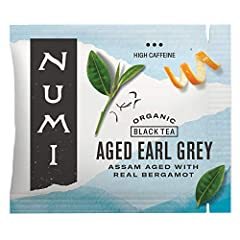 AGED EARL GREY: We age organic Assam black tea with real Italian Bergamot so the tea absorbs the orange scent. Enjoy a robust (flavorings-free) Earl Grey with subtle citrus notes. BOLD, BLACK TEA: Whether you're looking for a strong English Breakfast...