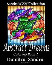 Abstract Dreams: Coloring Book 1 (Sandru's Art)