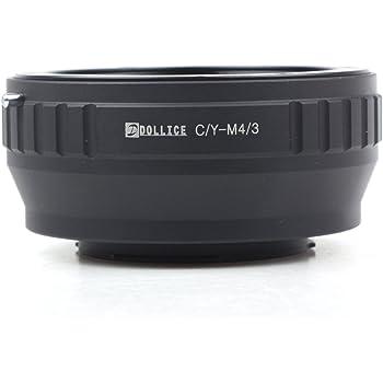 Contax Yashica C//Y Mount Lens to Micro 4//3 M4//3 Adapter GX7 GF6 GH3 G5 GF5 GX1 GF3 G3 /& for Olympus OM-D E-M1 E-M5 E-PL6 E-P5 Camera