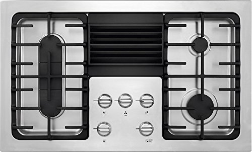Frigidaire RC36DG60PS 36' Built In Downdraft Gas Cooktop...