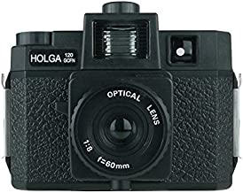 Holga 120GCFN Black with Glass Lens and Colored Flash 120 Format Film Camera