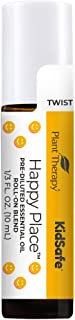 Plant Therapy Happy Place KidSafe Essential Oil Blend 10 mL (1/3 oz) Pre-Diluted Roll-On 100% Pure, Therapeutic Grade