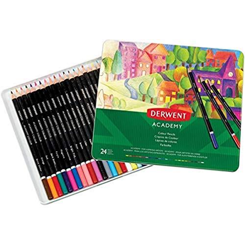 Derwent Academy 2301938 - Lápices de colores (24 unidades)