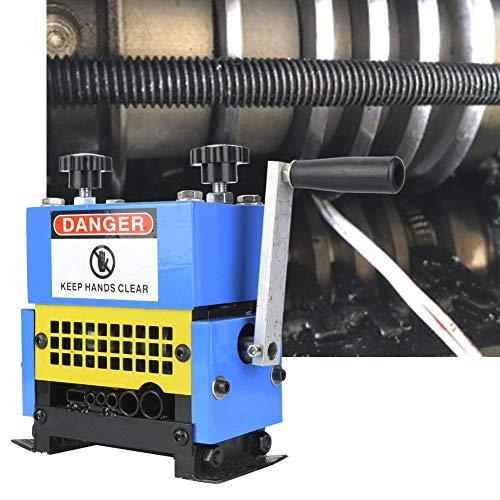 Máquina de pelar los hilos de chatarra, máquina de pelar los hilos manuales, máquina pelacables de 1,5 a 20 mm, manivela para pelar los hilos de cobre para el reciclado de los residuos de