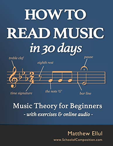6. How to Read Music in 30 Days: Music Theory for Beginners