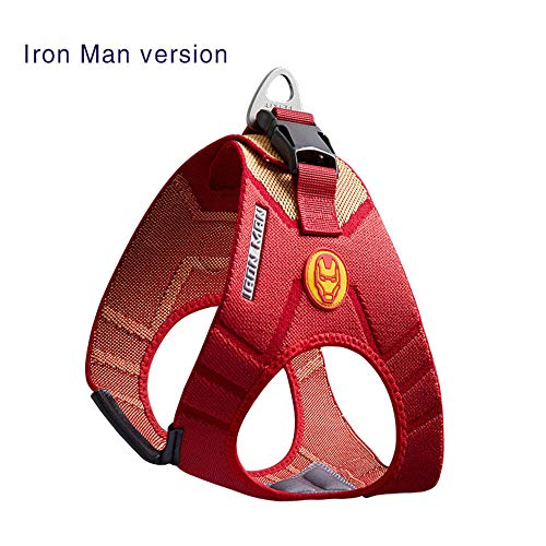 qiulanjia Dog Chest Strap Harnesses Marvel Dog Vest Style Traction Rope small medium Sized Dog Pet Products Outdoor