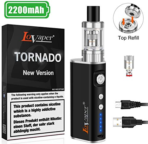 Sigaretta Elettronica Svapo Kit Completo, E Sigaretta/Shisha Box Mod, Ricaricabile 2200mAh Batteria,...