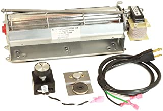 FireplaceBlowersOnline GFK4 GFK4A FK4 Fireplace Blower kit for Heatilator, Majestic, CFM, Vermont Castings, Monessen, Rotom HB-RB74K R7-RB74K | Ball Bearing, Quiet, High Air Flow