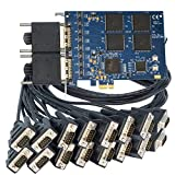 Logicbus 7161-DB9 PCI Card 7161 Provides 16 RS-232 Ports with Data speeds at 460.8K BPS