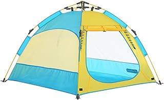 Game Tent-Jack Barn spel automatiskt tält blå inomhus och utomhus leksak strand tält spel hus (storlek: L)