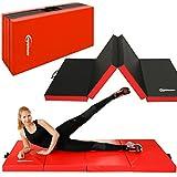 EYEPOWER 8cm Dicke Turnmatte für Zuhause 200x100 Klappbar - Gymnastikmatte - Kinder Weichbodenmatte