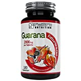 Guarana 180 Tabletten je 2000mg von Fat2Fit Nutrition