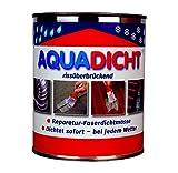 Aqua Dicht - Reparatur Faserdichtmasse 5 kg Eimer grau - Dichtet sofort bei jedem Wetter