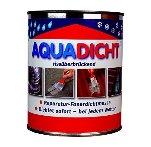 Aqua Dicht Reparatur - Faserdichtmasse 5kg Eimer transparent - Dichtet sofort bei jedem Wetter