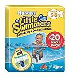 Huggies Little Swimmers Pañal Bañador Desechable Talla 2-3 (3-8 Kg) - 20...