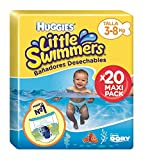 foto Huggies Little Swimmers Pañal Bañador Desechable Talla 2-3 (3-8 Kg) - 20 unidades