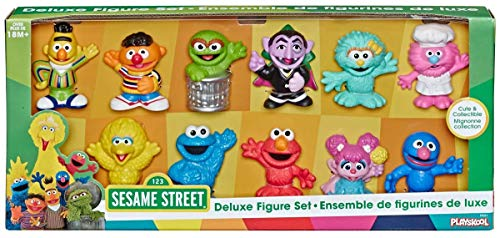 Sesame Street Cute & Collectible Deluxe Figure Set-11 Beloved Characters