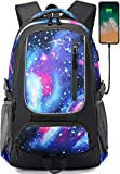 Backpack Bookbag for School Student College Business Travel Fit Laptop 15.6 Inch(Galaxy)