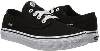 Vans Kid's Brigata Skateboarding Shoe Black/True White