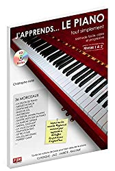 J\'apprends... LE PIANO tout simplement Niveau 1&2 C. Astie + CD
