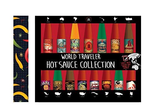 Juego de 15 salsas picantes de todo el mundo, de Modern Gourmet Foods
