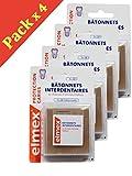 Elmex Kariesschutz Interdentalstäbchen – Packung mit 3 x 38 Stäbchen