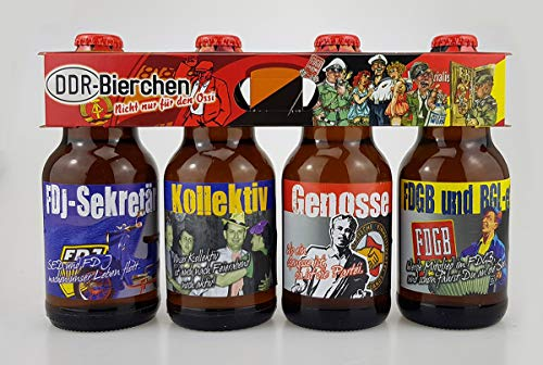 DDR Bier im witzigen Ostalgie 4er Träger Teil 2