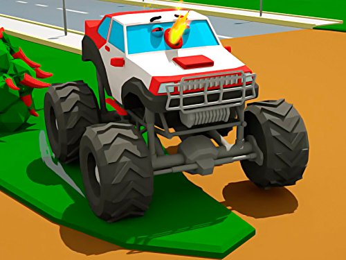 Neugieriger Monster Truck