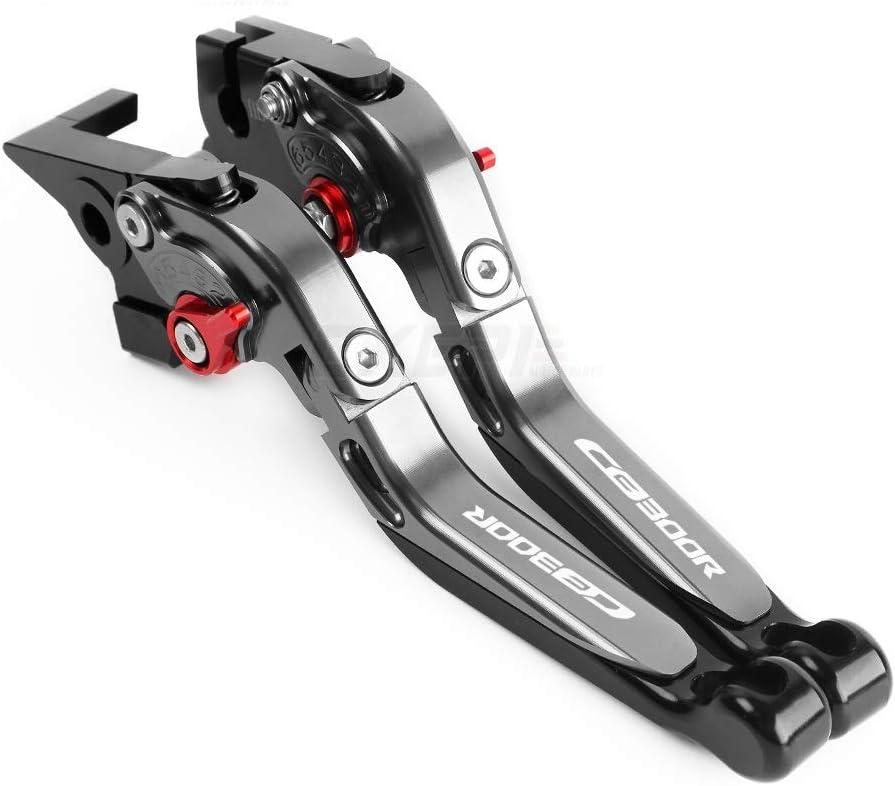 SHUAIFEI Motorrad-Folding Ausziehbare CNC Einstellbare Kupplung Bremshebel for Honda CB300R CB 300 R 2014 2015 2016 2017 2018-2019