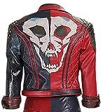 Suicide Squad 2 Harley Quinn (Margot Robbie) 2021 Cosplay traje corto chaqueta de cuero