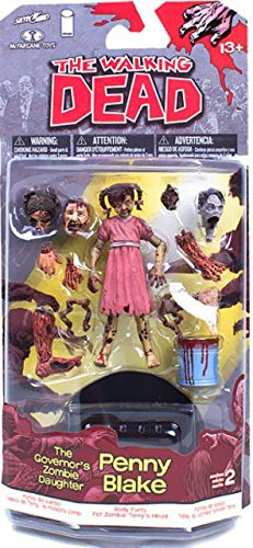 The Walking Dead - Comic Book Series 2 - Governor's Zombie Daughter - Penny Blake - Figura de acción