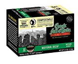 Chock Full o'Nuts Single-Serve Coffee Pods, Midtown Decaf Medium Roast - Premium Arabica Coffee - Compatible with Keurig K-Cup Brewers (12 Count)