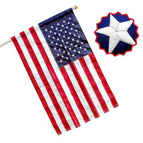 RamboN - 3x5 FT American Flag Pole …