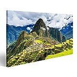 islandburner Bild Bilder auf Leinwand Machu Picchu, Peru.