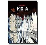 Jinliushi Radiohead Kid Musik Sänger Kunst Poster Büro