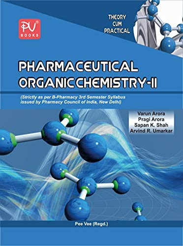 TEXTBOOK OF PHARMACEUTICAL ORGANIC CHEMISTRY II (SEM III) B.PHARM