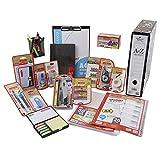 PACK MATERIAL DE OFICINA Y PAPELERÍA STARPLAST - Set material de escritorio, lote de productos de material escolar y de oficina.
