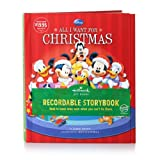 KOB9101 All I Want for Christmas Disney Recordable Storybook Special Hallmark Edition Hard Cover Book (Hallmark Gift Books Recordable Storybook)