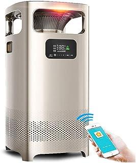 Radiador eléctrico MAHZONG Dormitorio del hogar del Calentador del purificador de Aire de 360 ° además del formaldehído PM2.5 Haze Fresh Filter