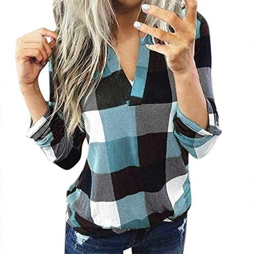 Teacher Shirts Women Funny,Long Sleeve Tops for Women, Womens Fashion V Neck Solid Zipper Pullover Sweatshirts Casual Loose T Shirt Blouses
