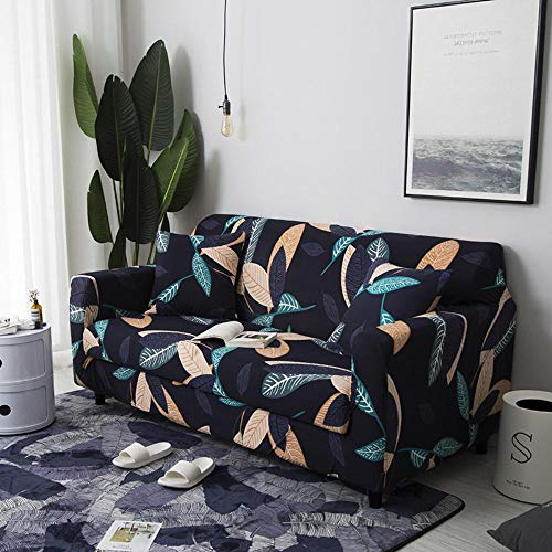 LYXGSSM High-Elastic Sofa Cover 1 Piece of Machine Washable Fashion Furniture Cover/Protector, with Spandex Jacquard Check Fabric, Non-Slip Furniture Cover,Kz-11,3 Seater