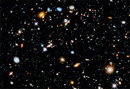 New Horizon Aviation, LLC Hubble Ultra Deep Field Hi Gloss Space Poster Fine Art Print