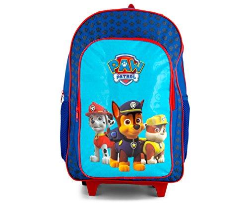 Paw Patrol Marshall & Chase Rollen Rucksack Trolley Schultasche