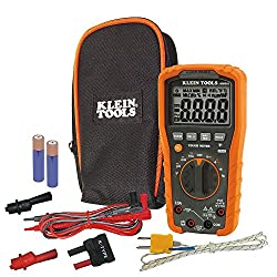 Klein Tools MM600 HVAC Multimeter, Digital Auto-Ranging Multimeter for AC/DC Voltage, and Current, Temperature, Frequency, Continuity, More