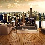 Papel tapiz fotográfico 3D personalizado para sala de estar sofá TV Fondo Mural papel tapiz edificio de la ciudad papel para cubrir paredes decoración del hogar