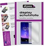 dipos I 6X Schutzfolie klar kompatibel mit Doogee Mix (5,5 Zoll) Folie Bildschirmschutzfolie (3X Vorder- und 3X Rückseite)