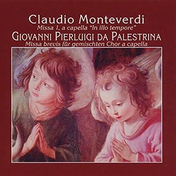 """Claudio Monteverdi: Missa """"In illo Tempore"""" - Giovanni Pierluigi da Palestrina: Missa Brevis"""