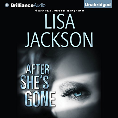 After She's Gone audiobook cover art