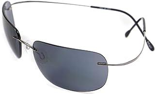 Silhouette 8562 RUTHENIUM/BLUE GREY one size fits all men Sunglasses
