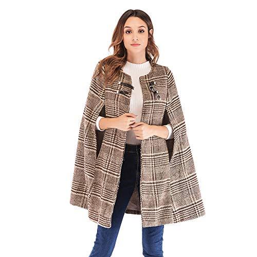 FRAUIT dames wollen jas normale vorm lange tweed jas met reverskraag vrouwen elegante oversized warme knopen winter jas winterjas wollen jas overgangsjas met riem